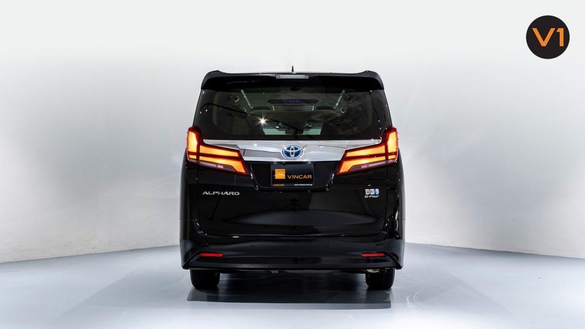 Toyota Alphard 2.5X Hybrid 7-Seater (FL2020) - Rear Direct