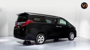Toyota Alphard 2.5X Hybrid 7-Seater (FL2020) - Rear Side Profile