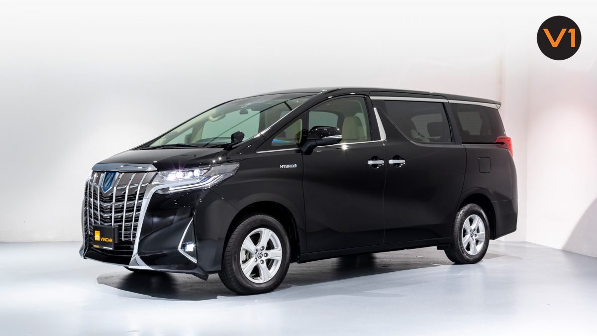 Toyota Alphard 2.5X Hybrid 7-Seater (FL2020) - Side Profile