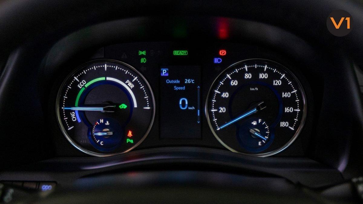Toyota Alphard 2.5X Hybrid 7-Seater (FL2020) - Speed Meter