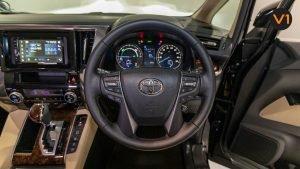Toyota Alphard 2.5X Hybrid 7-Seater (FL2020) - Steering Wheel