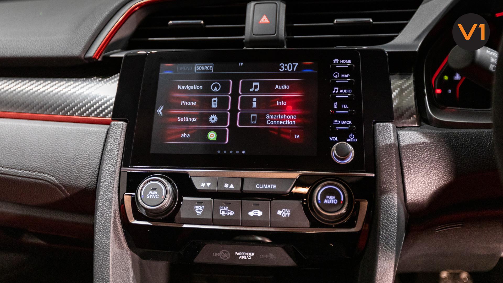 Honda Civic 2.0 Type R GT (FL2020) - Infotainment