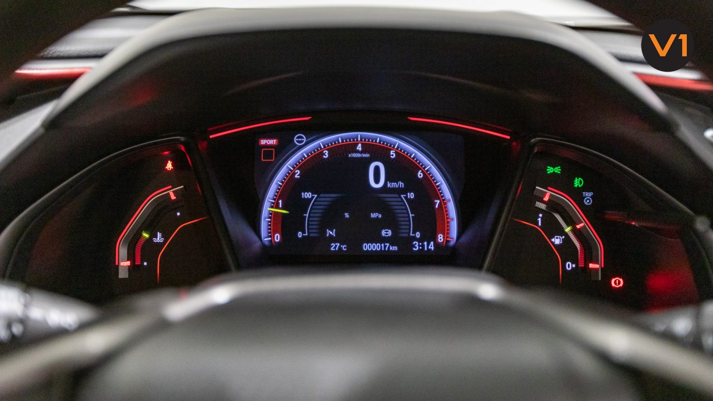 Honda Civic 2.0 Type R GT (FL2020) - Meter Red Illumination
