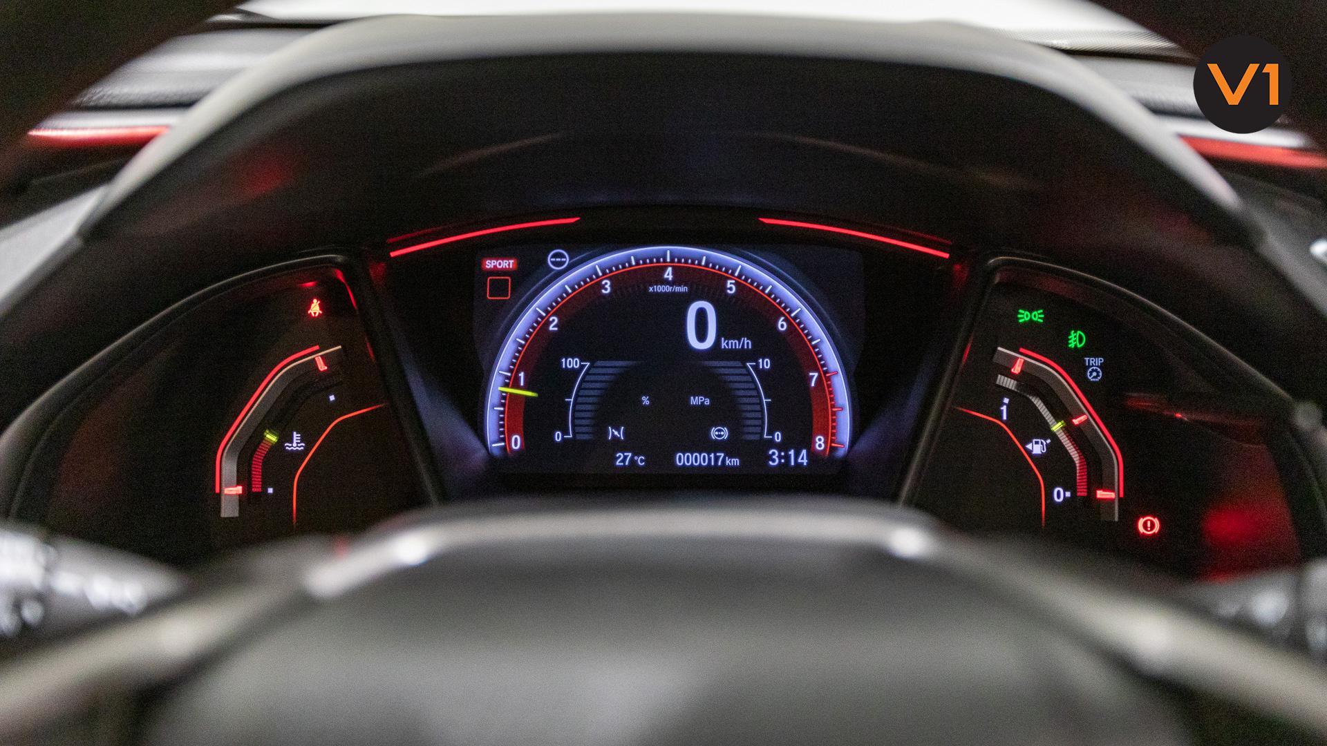 Honda Civic 2.0 Type R GT (FL2020) - Meter Red Illumination