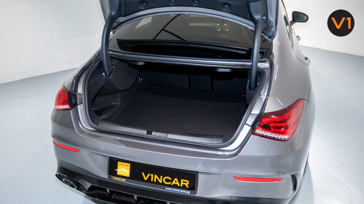 Mercedes-AMG CLA35 Coupe AMG 4Matic Premium Plus - Boot Space