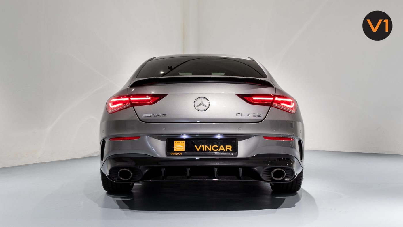 Mercedes-AMG CLA35 Coupe AMG 4Matic Premium Plus - Rear Direct