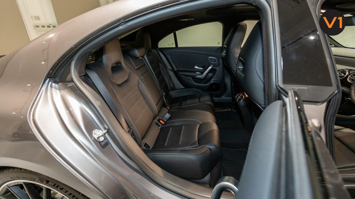 Mercedes-AMG CLA35 Coupe AMG 4Matic Premium Plus - Rear Seat
