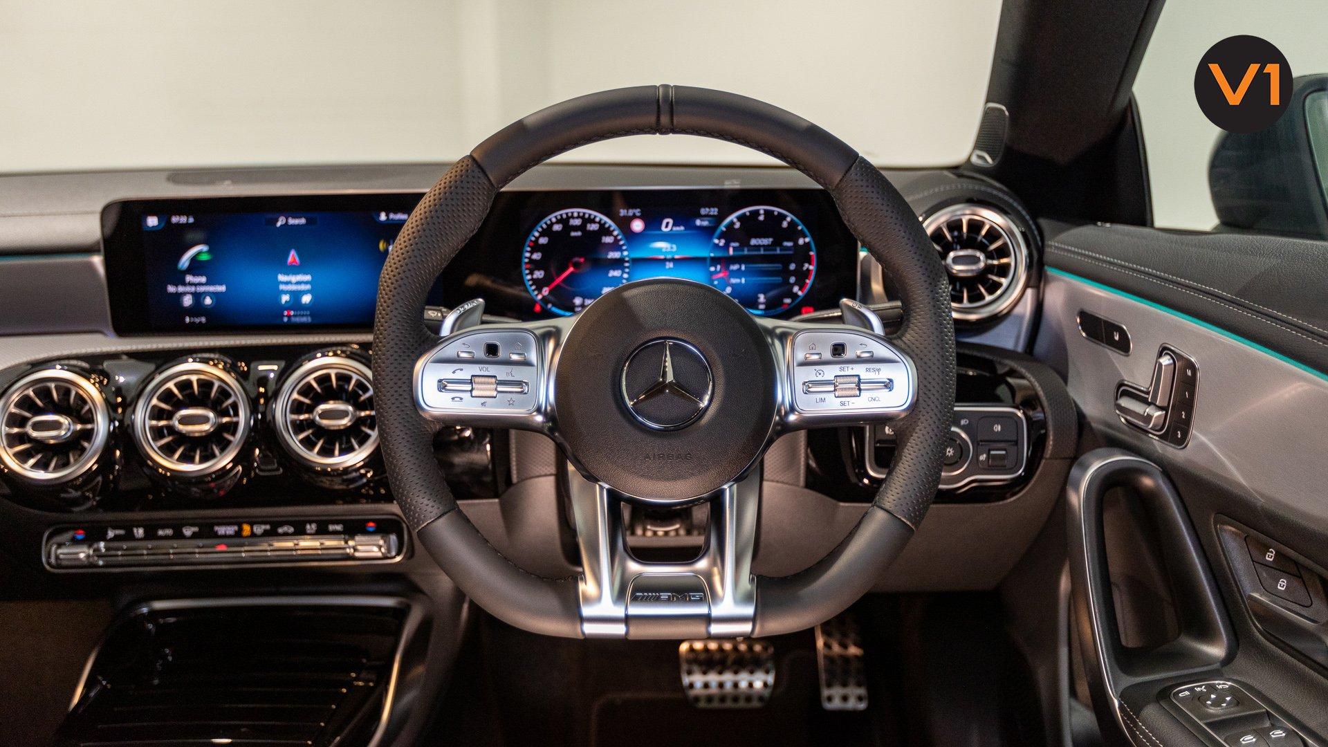 Mercedes-AMG CLA35 Coupe AMG 4Matic Premium Plus - Steering Wheel