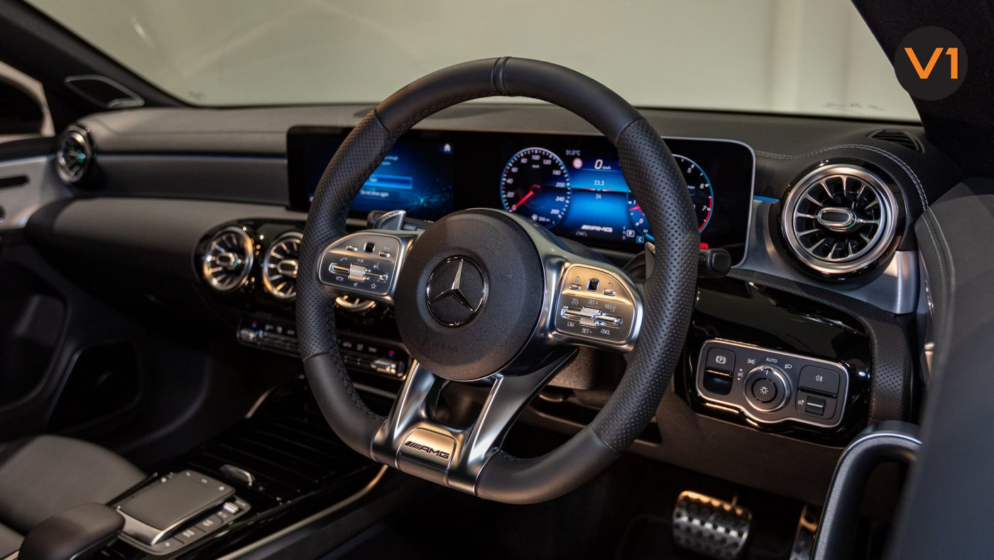 Mercedes-AMG CLA35 Coupe AMG 4Matic Premium Plus - Steering Wheel 2