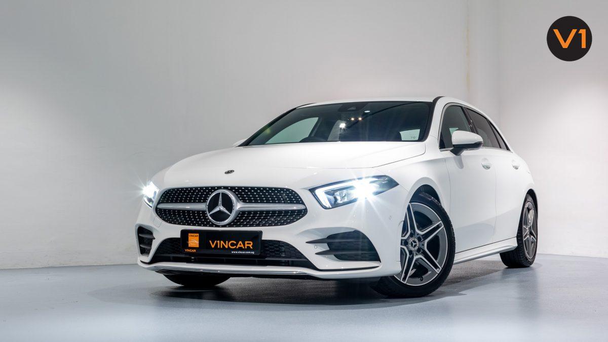 Mercedes-Benz A180 AMG Executive - Front Angle 2