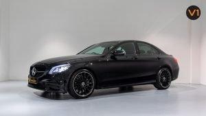 Mercedes-Benz C200 Saloon AMG Premium Night Edition - Side Profile