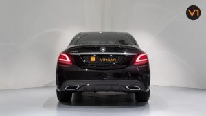 Mercedes-Benz C200 Saloon AMG Premium Night Edition - Rear Direct