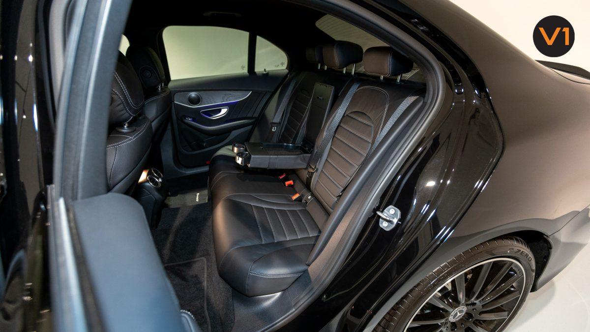 Mercedes-Benz C200 Saloon AMG Premium Night Edition - Rear Passenger Seat