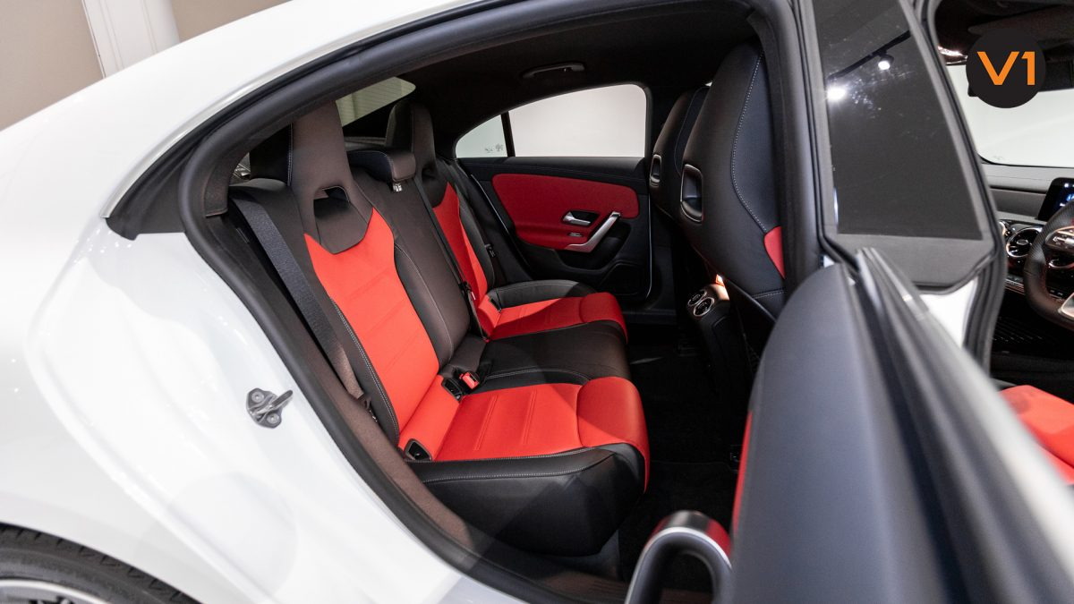 Mercedes-Benz CLA180 Coupe AMG - Back Seat