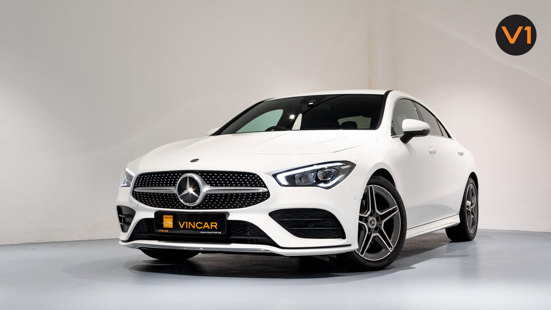 Mercedes-Benz CLA180 Coupe AMG - Front Angle