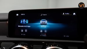 Mercedes-Benz CLA180 Coupe AMG - Infotainment