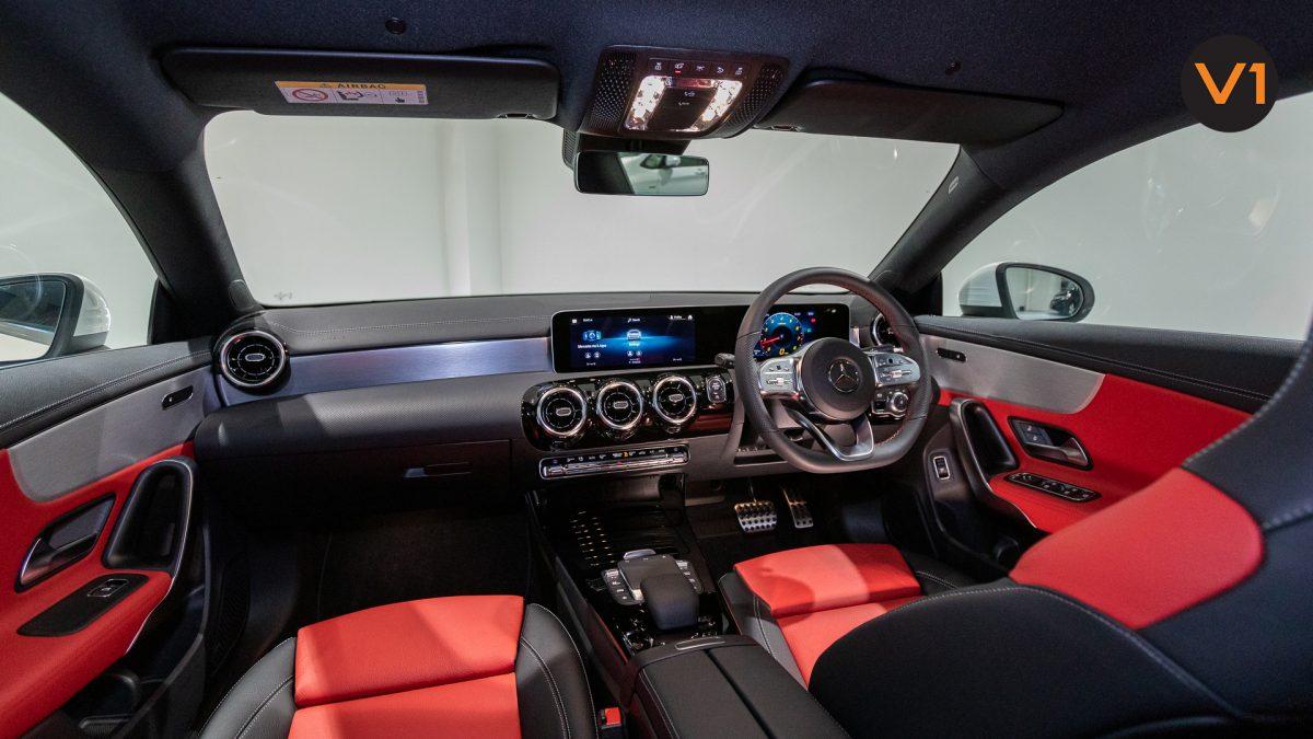 Mercedes-Benz CLA180 Coupe AMG - Interior Dashboard