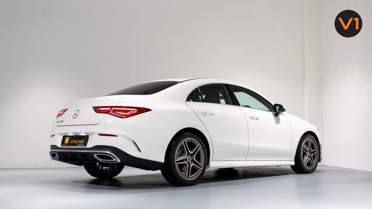 Mercedes-Benz CLA180 Coupe AMG - Rear Side Profile