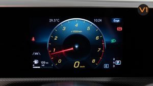 Mercedes-Benz CLA180 Coupe AMG - Speedometer