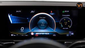 Mercedes-AMG GLB35 AMG 4MATIC Premium Plus - Instrument Display
