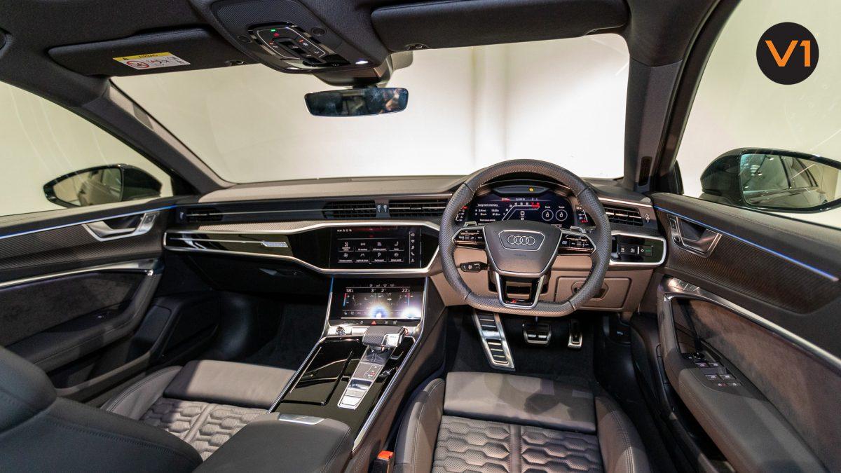 Audi RS 6 Avant - Interior Dashboard
