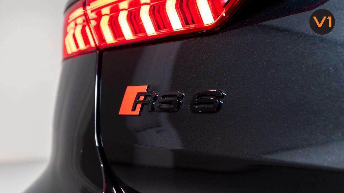 Audi RS 6 Avant - RS 6 Badge