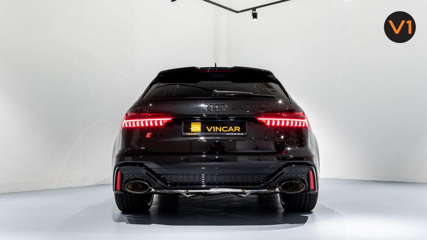 Audi RS 6 Avant - Rear Direct