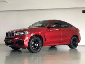 BMW X6 xDrive35i M-Sport - Side Profile
