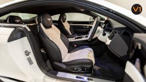 Bentley Continental GT Coupe V8 (Glacier White) - Driver Seat