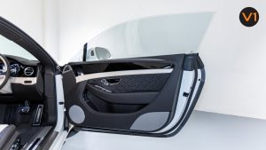 Bentley Continental GT Coupe V8 (Glacier White) - Front Door