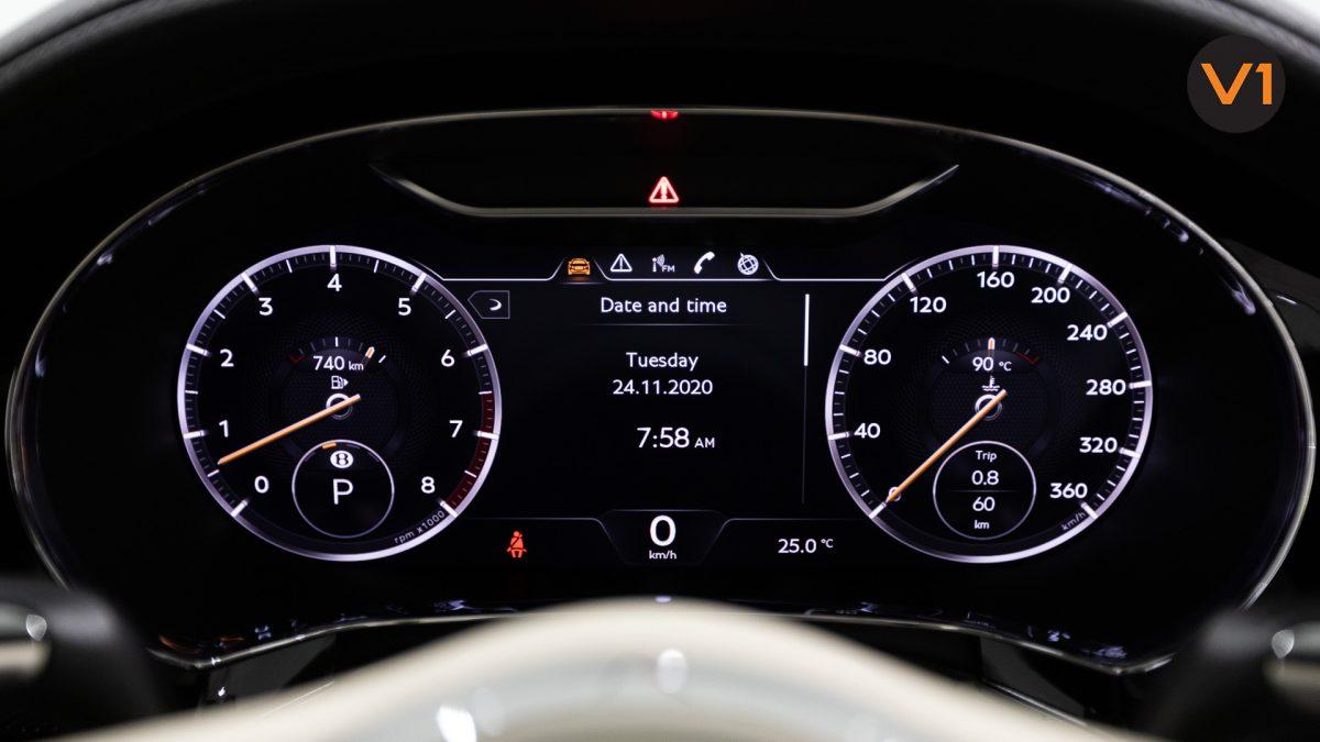 Bentley Continental GT Coupe V8 (Glacier White) - Meter