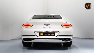 Bentley Continental GT Coupe V8 (Glacier White) - Rear Direct