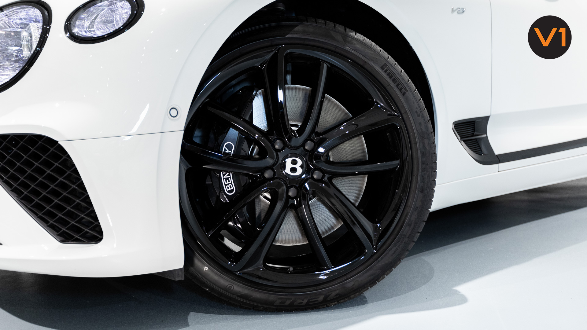 Bentley Continental GT Coupe V8 (Glacier White) - Wheels