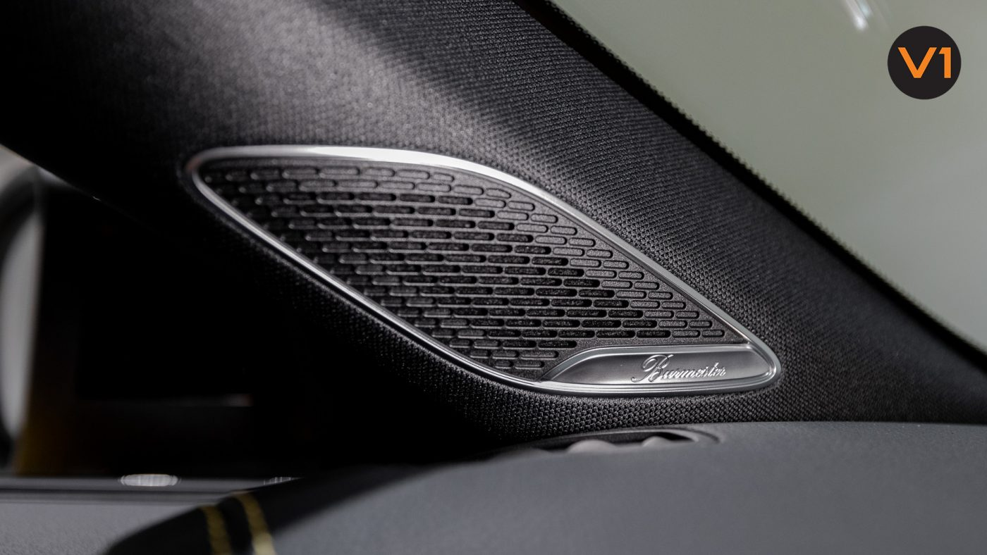 Mercedes-AMG CLA45 S Coupe AMG 4Matic+ Plus (Sun Yellow) - Burmester Surround Sound System