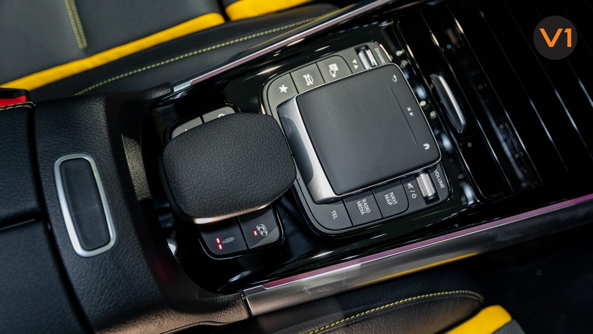 Mercedes-AMG GLA45 S 4Matic+ Plus - Center Console Touchpad