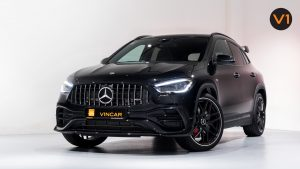 Mercedes-AMG GLA45 S 4Matic+ Plus - Front Angle