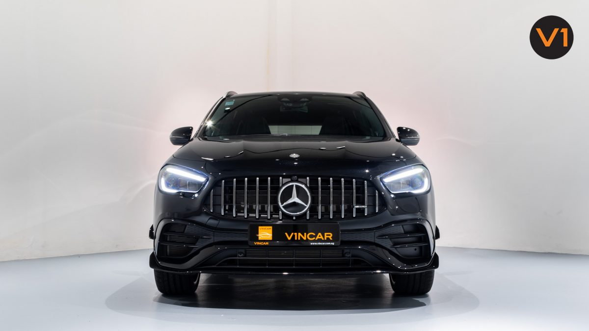 Mercedes-AMG GLA45 S 4Matic+ Plus - Front Direct