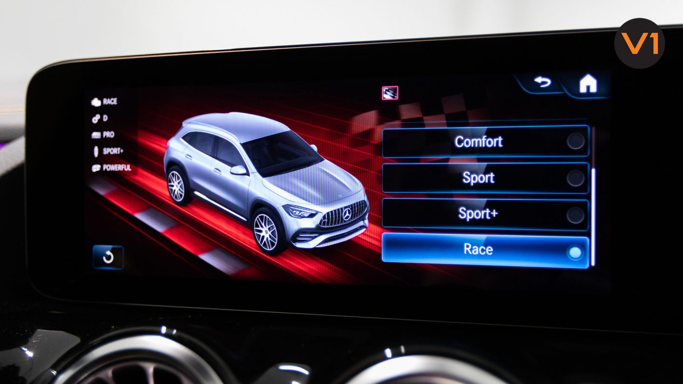 Mercedes-AMG GLA45 S 4Matic+ Plus - Infotainment System