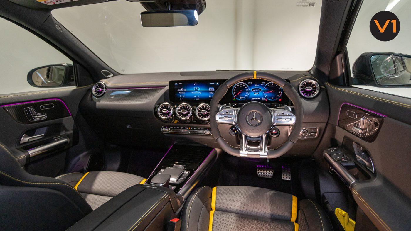 Mercedes-AMG GLA45 S 4Matic+ Plus - Interior Ambient Lighting