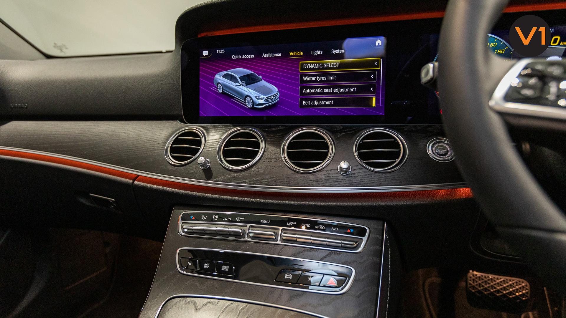 Mercedes-Benz E200 Saloon AMG Luxury (FL2021) - HVAC System