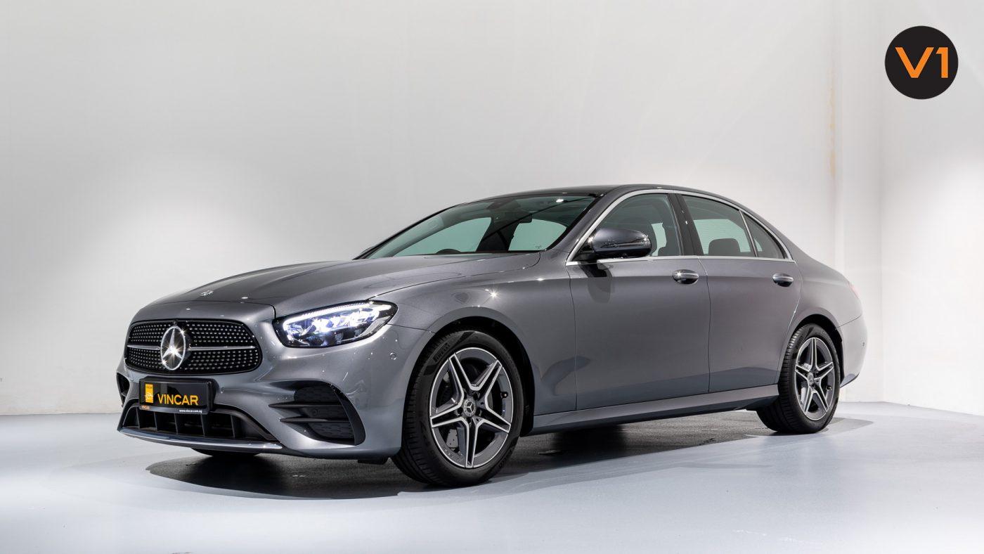 Mercedes-Benz E200 Saloon AMG Luxury (FL2021) - Side Profile