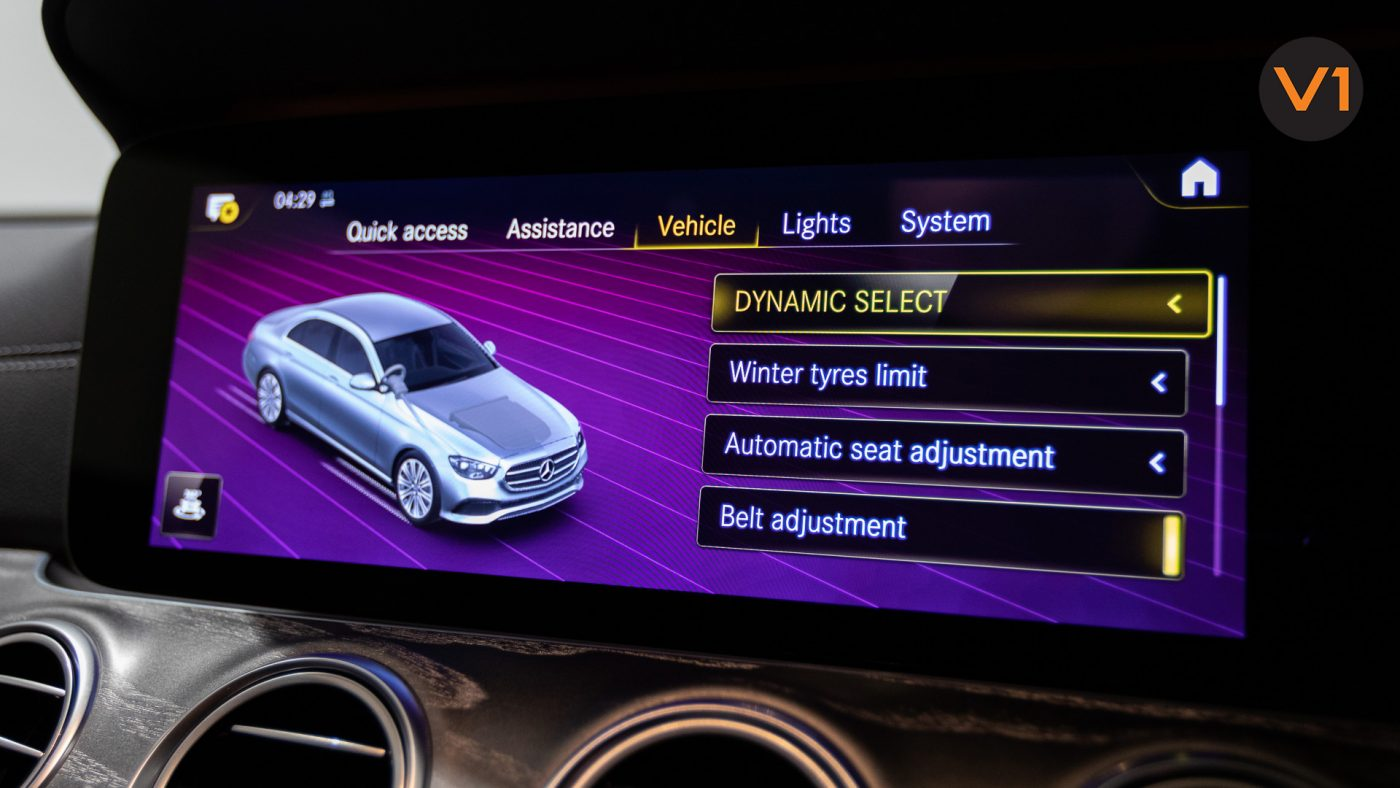 Mercedes-Benz E220d Saloon AMG Line Night Edition Premium Plus (FL2021) - Infotainment