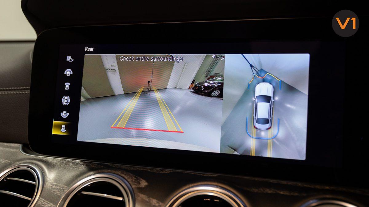 Mercedes-Benz E220d Saloon AMG Line Night Edition Premium Plus (FL2021) - Parking Assist