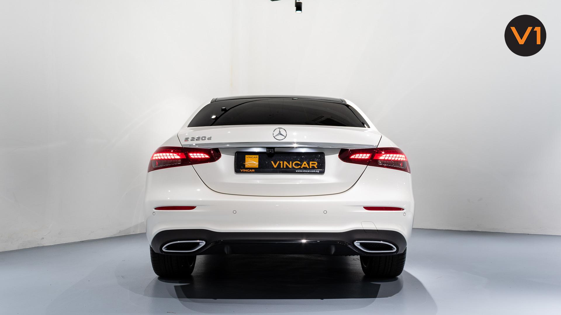 Mercedes-Benz E220d Saloon AMG Line Night Edition Premium Plus (FL2021) - Rear Direct