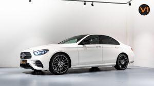 Mercedes-Benz E220d Saloon AMG Line Night Edition Premium Plus (FL2021) - Side Profile