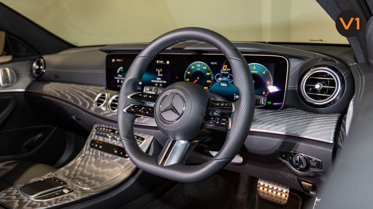 Mercedes-Benz E220d Saloon AMG Line Night Edition Premium Plus (FL2021) - Steering Wheel