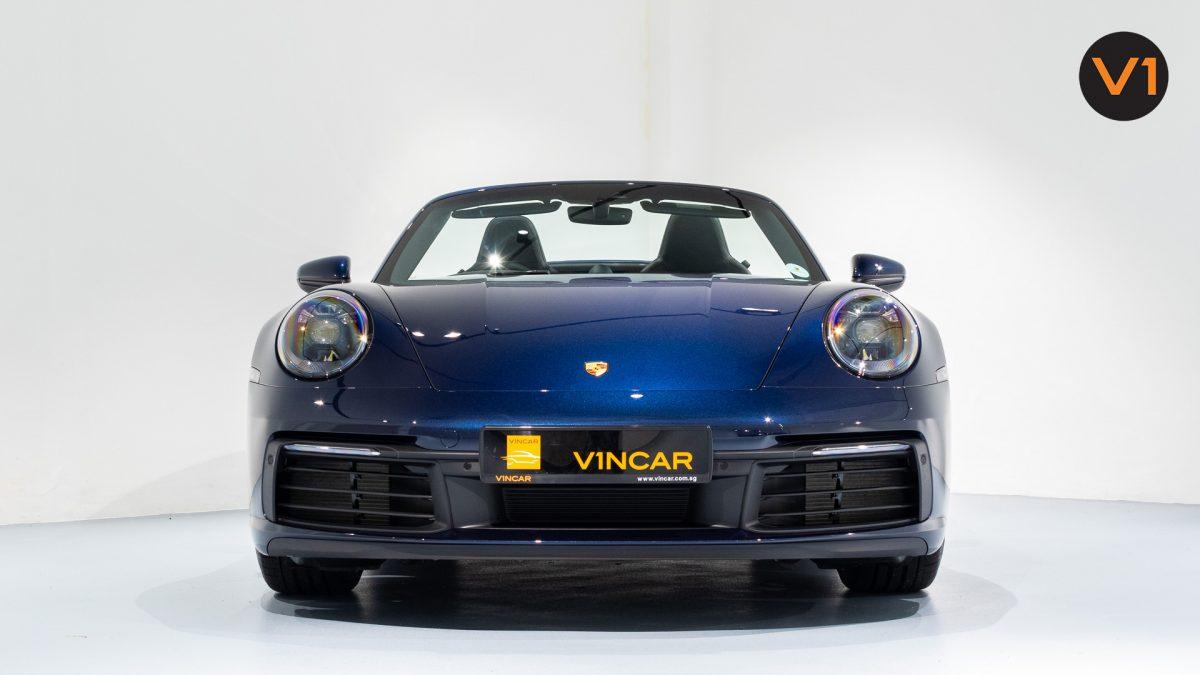 Porsche 911 Carrera Cabriolet - Front Direct