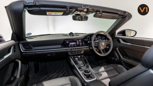 Porsche 911 Carrera Cabriolet - Interior Dashboard