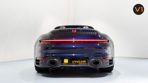 Porsche 911 Carrera Cabriolet - Rear Direct