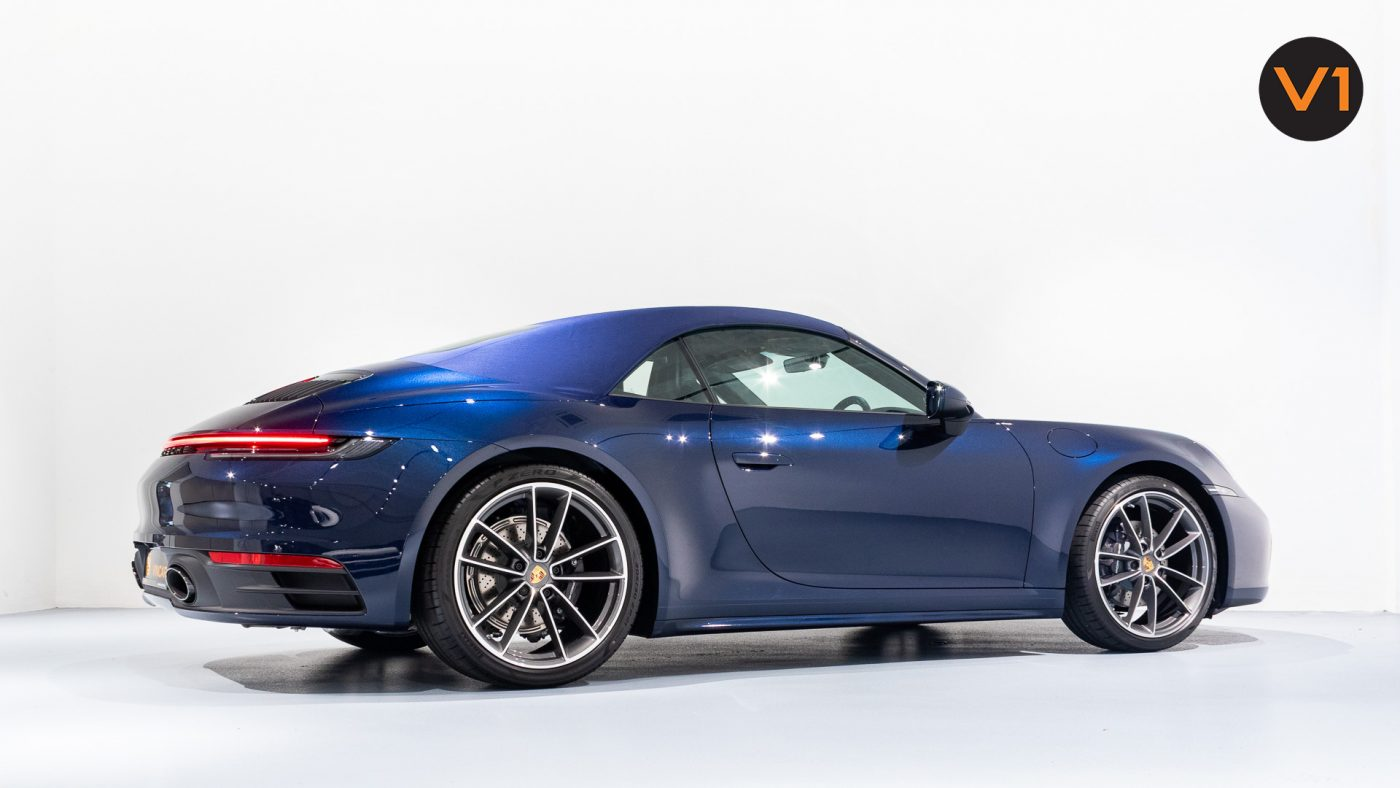 Porsche 911 Carrera Cabriolet - Side Profile with Convertible Top 2
